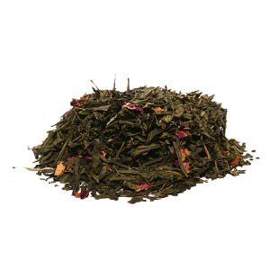 Organic Sencha Kyoto Cherry Rose Green Tea